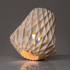 Pilke 28 Table Lamp - настольная деревянная дизайнерская лампа. Светильник. Финский скандинавский дизайн.