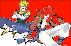 Gogeta And Vegito, Db Z, Dragon Ball Z, Anime, Dragon Dall Z, Cartoon Movies, Anime Music, Animation, Anime Shows