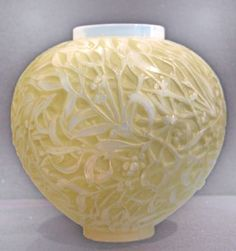 Lalique Art Nouveau Vase 1920  Protect your treasures while rennovating the house! BlueVault, like Fort Knox for the public, is the place to protect your valuables. Store your valuables in an ultra secure safe deposit vault unit – small, medium, or large sizes. BlueVaultSecure.com For anything valuable.