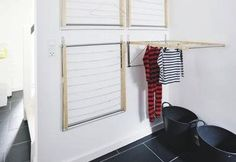 Diy: Instant Laundry Drying Room