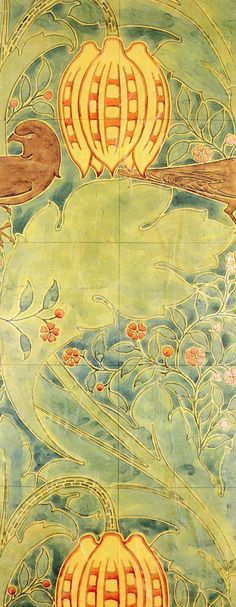 Wallpaper design produced by Essex & Co., 1905.