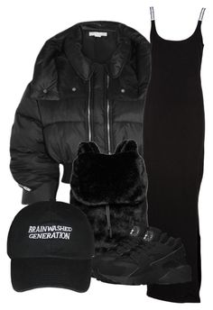 """""""All black"""" by bilgzzxo ❤ liked on Polyvore featuring Puma and NIKE"""