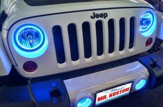 The Jeep Store is your local source for new Chrysler, Dodge, Jeep and Ram vehicles in Ocean Township, NJ. Blue Jeep, White Jeep, 2012 Jeep Wrangler, Jeep Wrangler Unlimited, Jeep Wrangler Lights, Wrangler Accessories, Jeep Accessories, Jeep Store, Jeeps