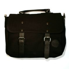 #EnterAccessories #Canvas #Leather #Brief #Bag #Sivletto #KristianHell