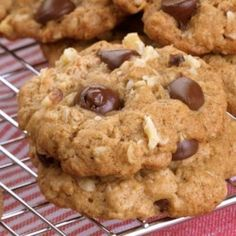 Oatmeal Chocolate Chip Cookies - EatingWell.com