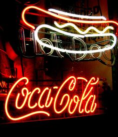 Signage | Hot dogs & Coca-Cola | Flickr - Photo Sharing!