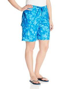 b389e901def Kanu Surf Women s Plus-Size Sydney Plus Size Boardshorts