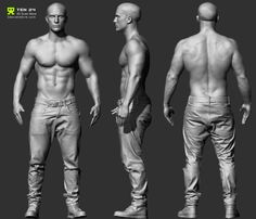Reference Character Models - Page 6