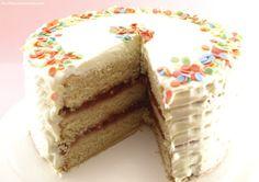 Tarta de chocolate blanco y fresa - MisThermorecetas.com