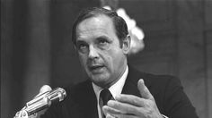 Alexander Butterfield appeared before the Senate Watergate Committee and revealed the existence of a secret recording system in the White House. Butterfield served as deputy assistant to President Nixon from 1969 to 1973, and was responsible for providing the president with briefing papers, taking care of his personal correspondence, maintaining historical records and operating the White House taping system.