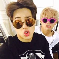 This is what Jimin and V do after they land safely in Japan and rehearsals are over