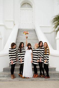 Cool bridesmaids dresses