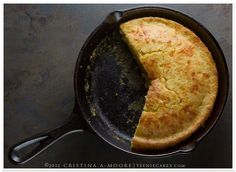 Cheesy Skillet Cornbread: add buttermilk in place of milk, 1c shredded cheddar, 1/2c frozen corn, melt butter in cast iron skillet, pour in batter and bake
