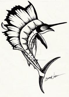 Sailfish by MyOwnEnchantment on DeviantArt