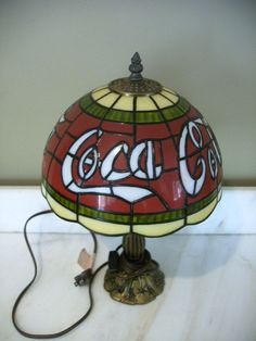 coca cola lamp - hey I have this lamp :)