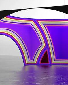 Maxim Zhestkov, Layers, 2018 Light Art Installation, Video Installation, New Media Art, Interactive Art, Kinetic Art, Wow Art, Art Graphique, Art Festival, Graphic Design Posters