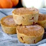 Pumpkin Protein Fudge (gluten free and can be vegan!)