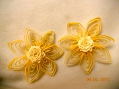 quiling / kwiaty / Unique quilling flower My Design - YouTube