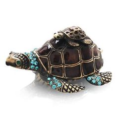 Welforth Turtle Jewelry Box