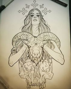 Would love to tattoo this lady preferably full colour. Hit me up…