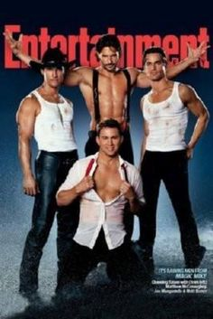 Magic Mike Movie poster Metal Sign Wall Art 8in x 12in