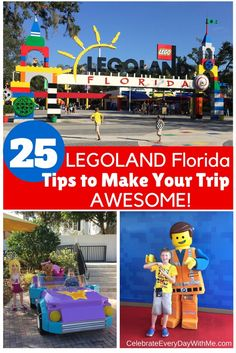 LEGOLAND Florida tips: Things to know before you go! Make the day awesome for your family of LEGO lovers. You'll be amazed how much there is to do.