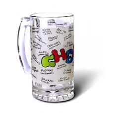 Cheers Beer Mug. Buy it here: http://www.happilyunmarried.com/products/bar-and-drinking/beer-mugs/cheers-mug.html