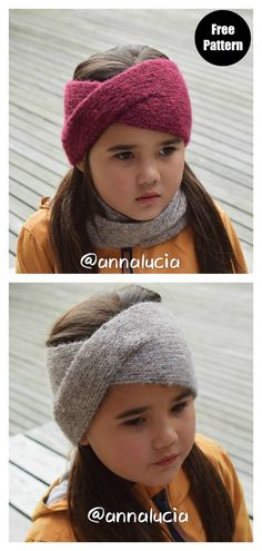 knit headband pattern The Twist Headband Free Knitting Pattern is quick and easy to knit up and is the perfect accessory pattern for any beginner knitter. Knitting Terms, Easy Knitting Patterns, Free Knitting, Knitting Projects, Baby Knitting, Scarf Patterns, Knitting Tutorials, Beginner Knitting, Finger Knitting