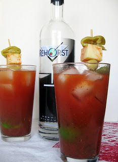 Burp! Recipes: Cranberry Chipotle Bloody Mary with Beaver Dam Peppers