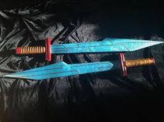 swords #1 1//6 Scale Hot Toys MMS445 Thor Ragnarok Gladiator Thor