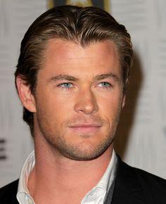 Chris Hemsworth - love his eyes
