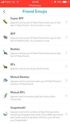 #snapchat #friends #inspiration #snapchatfilter Cute Snapchat Names, Best Snapchat, Snapchat Ideas, Instagram And Snapchat, Instagram Posts, Snapchat Streak Emojis, Snapchat Friend Emojis, Friends Emoji, Snap Friends