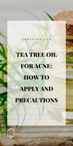 Tea tree oil (TTO) is said to reduce acne bacteria rate and inflammation as impactful as pharmaceutical drugs without major side effects including dry skin, redness or flaking. Since tea tree oil is a natural antiseptic and antibiotic. Tea Tree Oil Uses, Tea Tree Oil For Acne, Best Oil For Skin, Oils For Skin, Dry Face, Face Wash, Organic Skin Care, Natural Skin Care, Clean Beauty