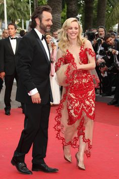 Rachel McAdams and Michael Sheen at Cannes