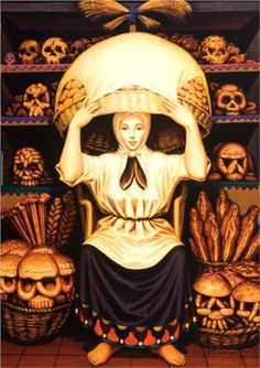 Optical Illusion Skull Art - Collect images like these for a fun little hobby. Like this one, Skulls, by artist Octavio Ocampo. Look closely and you'll see a bakery worker, but squint your eyes and you'll see a skull. Art And Illustration, Art Illustrations, Illusion Kunst, Illusion Art, Art Amour, Street Art, Inspiration Art, Memento Mori, Art Design