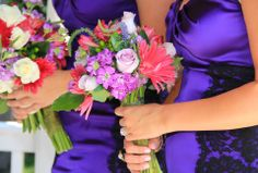 Bridesmaids bouquets. Photo taken in Occoquan, VA by April rose Photography of Fredericksburg, VA