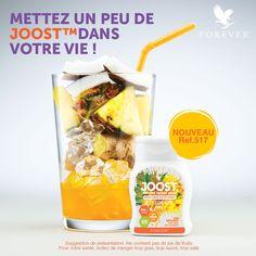 NOUVEAU ! Joost Ananas, Coco, Gingembre !  Des saveurs, de l'énergie et du fun !