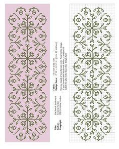 Motifs Blackwork, Blackwork Cross Stitch, Cross Stitch Borders, Cross Stitch Samplers, Cross Stitching, Cross Stitch Patterns, Kasuti Embroidery, Folk Embroidery, Cross Stitch Embroidery