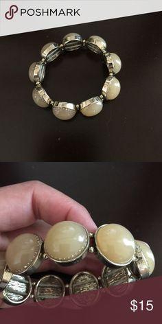 Ann Taylor Stretch Bracelet Ann Taylor bracelet! In great condition! Ann Taylor Jewelry Bracelets