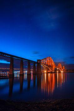 Forth Rail Bridge, Edinburgh, Scotland -- Curated by: Ecora Engineering & Resource Group | 579 Lawrence Avenue Kelowna BC v1y 6l8 | 250-469-9757