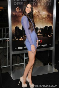 #kendalljenner and #fashion  Kendall Jenner at the 'Project X' Premiere at Grauman's Chinese Theatre in Hollywood, California- February 29, 2012  | PUBLISHED TUESDAY, APRIL 24, 2012