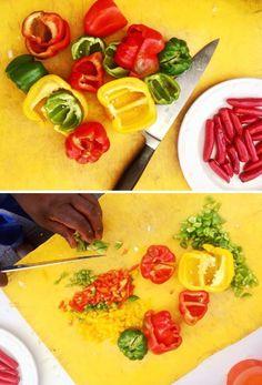 CHEF SANDILE'S CHAKALAKA RECIPE   Cape Fusion Tours Chakalaka Recipe, South African Recipes, Ethnic Recipes, Masala Curry, Lamb Stew, Roasted Meat, Curry Paste, Baked Beans, Kfc