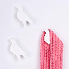 eu.Fab.com | HOME Hangers Bird White (3pcs)