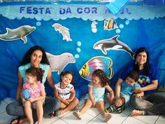 Blog Geração 10: FESTA DA COR AZUL