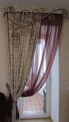 Photo. DraperyCurtainsWindow Treatments