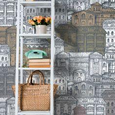 CITY. Abbellisci la parete della tua casa con la carta da parati miscelando texture, foto o disegni per dare vita a soluzioni brillanti, seducenti, uniche!http://www.arredamentimeneghello.it/prodotti/carta-da-parati/