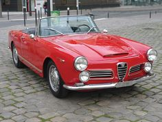 1964 Alfa Romeo 2600 Spyder Maintenance/restoration of old/vintage vehicles: the material for new cogs/casters/gears/pads could be cast polyamide which I (Cast polyamide) can produce. My contact: tatjana.alic@windowslive.com