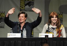 "BBC America's ""Doctor Who"" Panel - Comic-Con International 2012"