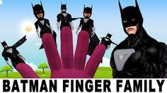Batman - Dawn of Justice | Finger Family Funny Children Nursery Rhymes