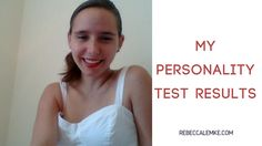 """Want to hear me say, """"That's me. Yep, I do that."""" over and over again? Check out the results of the personality test I took!"""